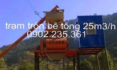 Trạm trộn bê tông 25m3/h