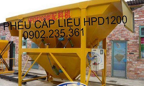 Phễu cấp liệu HPD-1200