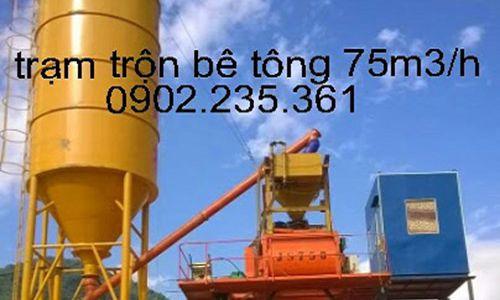 Trạm trộn bê tông 60m3/h